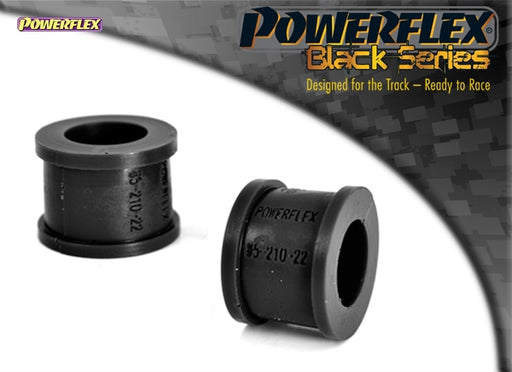 Powerflex Black Series Front Anti Roll Bar Eye Bolt Bush Eibach 22mm Kit for Volkswagen Golf (MK2)