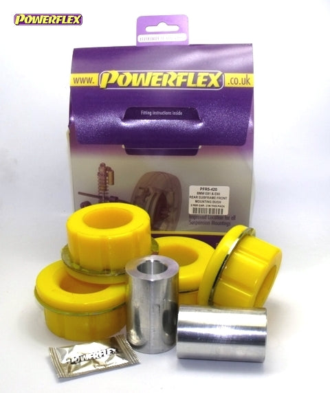 Powerflex Rear Subframe Front Mounting Bush Kit for BMW 1-Series (E87)