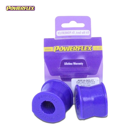 Powerflex Front Anti Roll Bar Bush 21mm Kit for Fiat 500