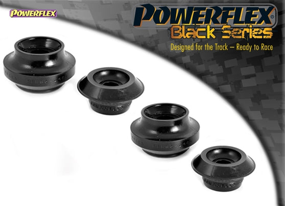 Powerflex Black Series Rear Shock Top Mounting Bush Kit for Volkswagen Polo (6N2)