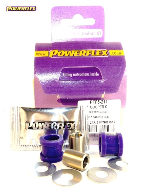 Powerflex Super Charger Belt Damper Bushes Kit for Mini Hatch (R50)