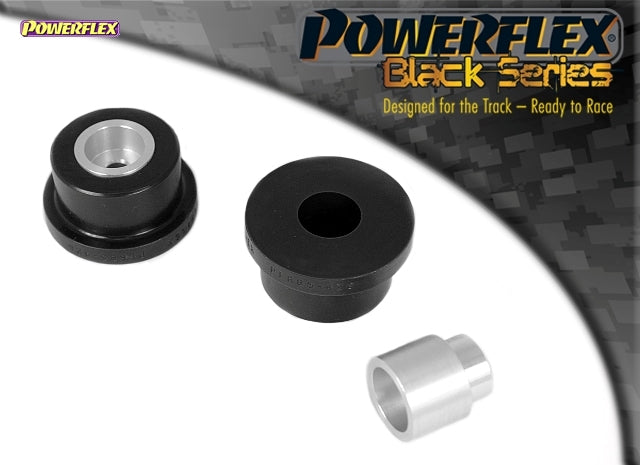 Powerflex Black Series Rear Diff Rear Mounting Bush Kit for Audi TT (MK1)