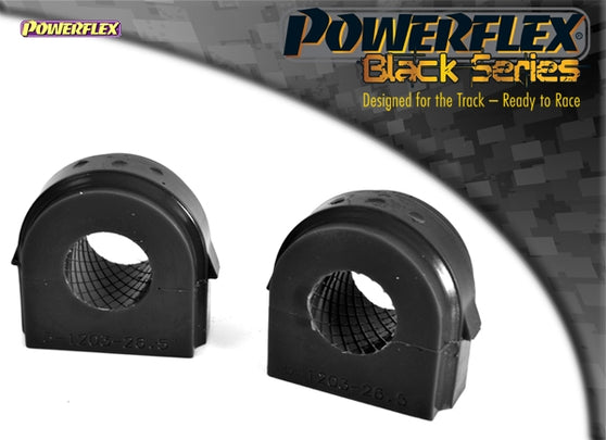 Powerflex Black Series Front Anti Roll Bar Bush 26.5mm Kit for BMW 1-Series (E81)