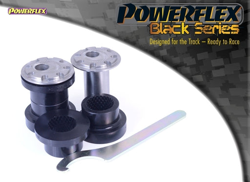 Powerflex Black Series Front Wishbone Front Bush Camber Adjustable 14mm Bolt Kit for Ford Focus RS (MK3)