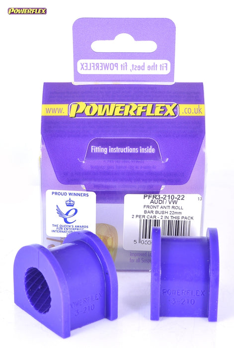 Powerflex Rear Anti Roll Bar Bush 22mm Kit for Audi S4 (B7)
