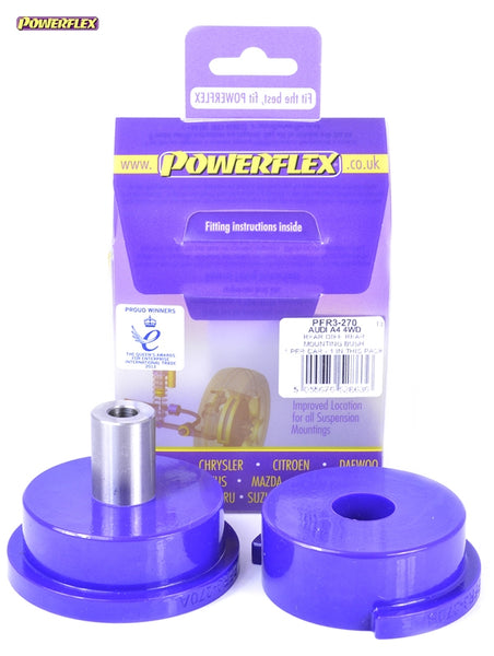 Powerflex Rear Diff Front Mounting Bush Kit for Audi A4 (B7)