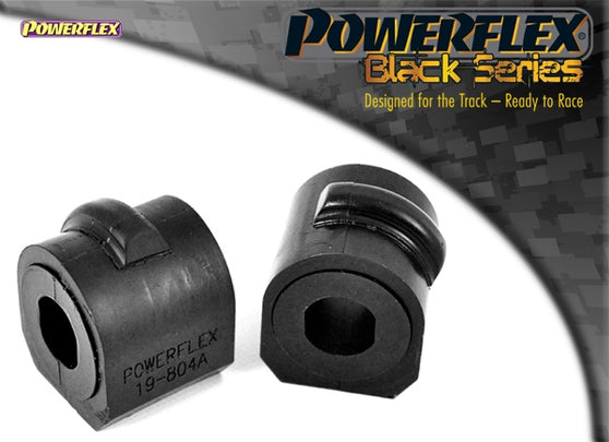 Powerflex Black Series Front Anti Roll Bar Mounting Bush Kit for Ford Focus RS (MK1)