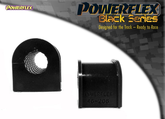 Powerflex Black Series Rear Anti Roll Bar Bush 18mm Kit for Nissan Silvia (S15)