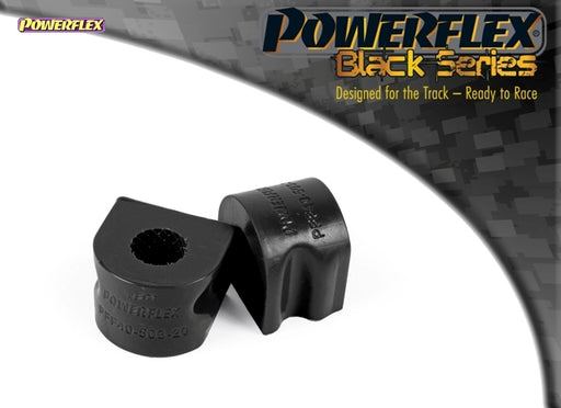 Powerflex Black Series Front Anti Roll Bar Inner Bush 20mm Kit for Mercedes-Benz CLK (W209)