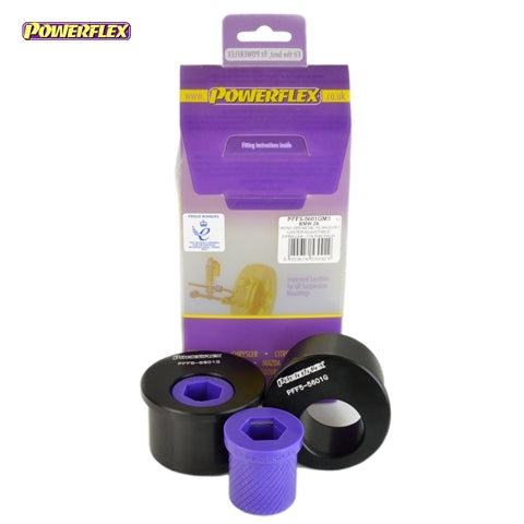 Powerflex Front Wishbone Rear Bush, Caster Offset Kit for BMW 3-Series (E46)