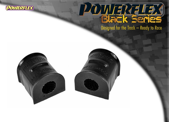 Powerflex Black Series Front Anti Roll Bar To Chassis Bush 22mm Kit for Ford Focus RS (MK2)