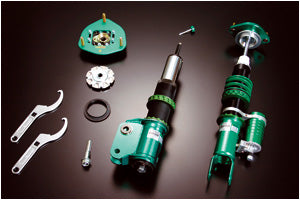 TEIN Super Racing Coilovers for Mitsubishi Lancer Evo 8