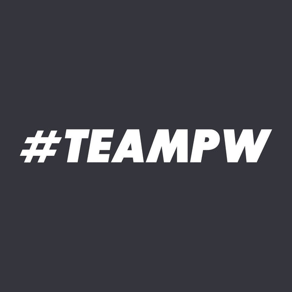 #TEAMPW Sticker