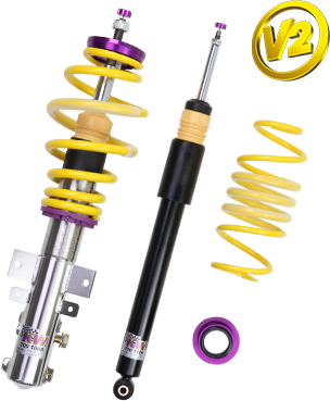 KW Variant 2 Coilovers For BMW 1-Series (E81)