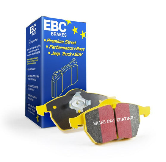 EBC Yellowstuff Rear Brake Pads for Audi A3 Quattro (8V)