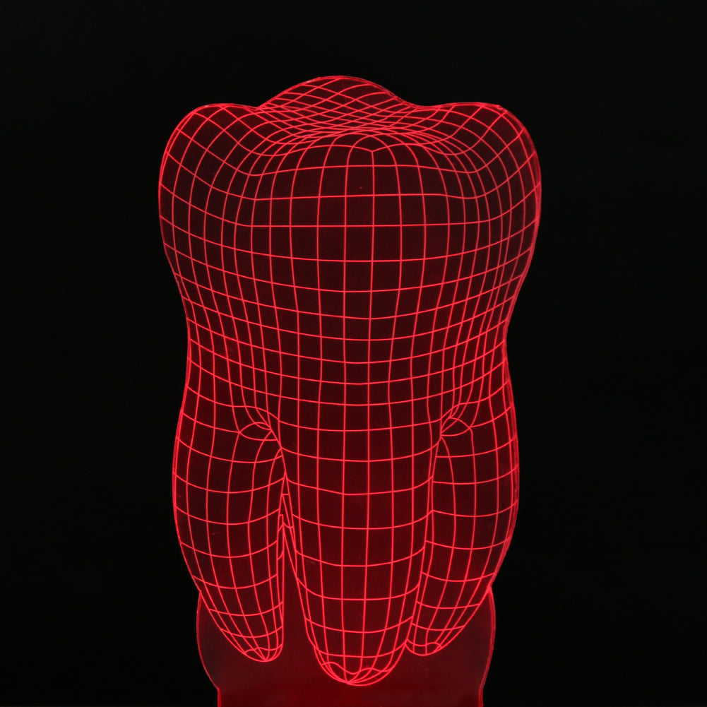 3D Dental Tooth LED Atmospheric Lamp Night Light – Dentalbuzz.shop