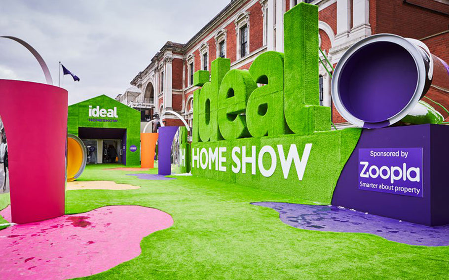 The Ideal Home Show!