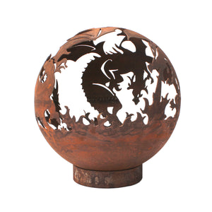 Dragon Design 50cm Garden Fire Ball