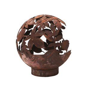 Leaf Design 50cm Garden Fire Ball