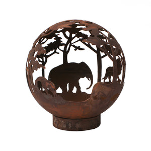 Safari Design 50cm Garden Fire Ball