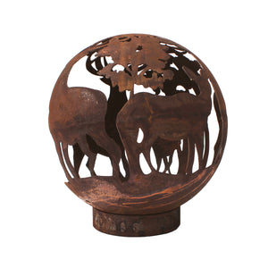 Stag Design 50cm Garden Fire Ball