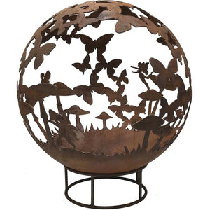 Fairy Design 90cm Garden Fire Ball