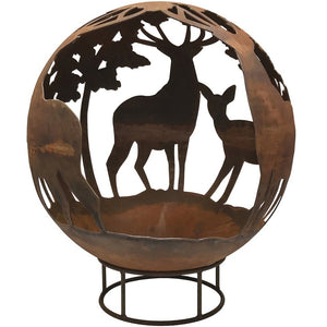 Stag Design 90cm Garden Fire Ball