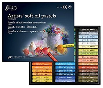 Mungyo Gallery Soft Oil Pastels Set of 48 - Assorted Colors, - Nouveau Artiste