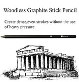 Drawing Sketching Pencils Set - Graphite and Charcoal Sticks Art Kit Supplies for Kids,Teens and Adults, - Nouveau Artiste
