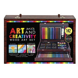 Art 101 142-Piece Wood Art Set: Toys & Games, - Nouveau Artiste