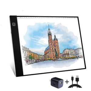 A4 Tracing Light Box Portable LED Light Table Tracer Board, - Nouveau Artiste