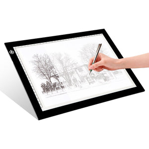 LITENERGY Portable A4 Tracing LED Copy Board Light Box, Ultra-Thin Adjustable, - Nouveau Artiste