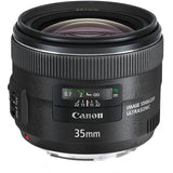 Canon EF 35mm f/2 IS USM Wide-Angle Lens, - Nouveau Artiste