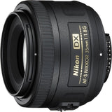 Nikon 35mm f/1.8G AF-S DX Lens for Nikon DSLR Cameras (Renewed), - Nouveau Artiste