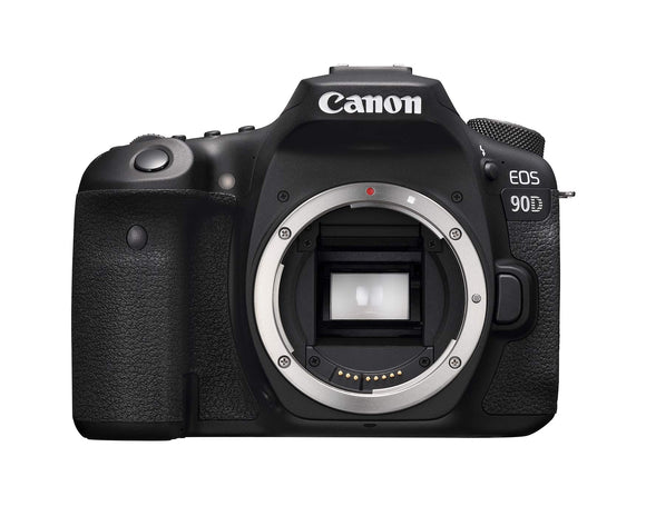 Canon 90D Digital SLR Camera [Body Only], Black (3616C002), - Nouveau Artiste