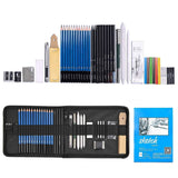 35pcs Graphite Drawing Pencils and Sketch Set ,Professional Drawing and Sketching, - Nouveau Artiste