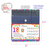 Journal Planner Pens Colored Pens Fine Point Markers Fine Tip Drawing Pens, - Nouveau Artiste