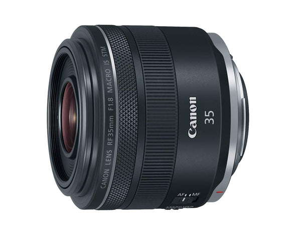 Canon RF 35mm f/1.8 IS Macro STM Lens, Black - 2973C002, - Nouveau Artiste