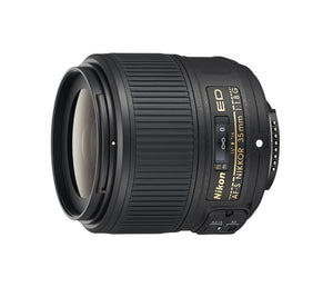 Nikon AF-S NIKKOR 35mm f/1.8G ED Fixed Zoom Lens with Auto Focus for Nikon DSLR Cameras, - Nouveau Artiste