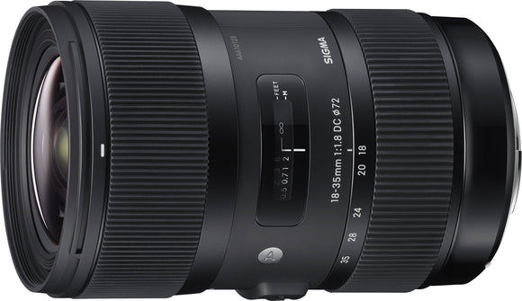 Sigma 18-35mm F1.8 Art DC HSM Lens for Canon, - Nouveau Artiste