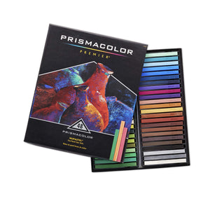Prismacolor 27051 Premier NuPastel Firm Pastel Color Sticks, Box of 48 Color Sticks, - Nouveau Artiste