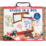 Kid Made Modern Studio in A Box Set - Painting Sketching and Coloring Arts and Crafts Kit, - Nouveau Artiste