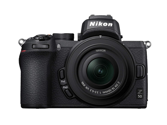 Z 50 DX-format Mirrorless Camera Body w/ NIKKOR Z DX 16-50mm f/3.5-6.3 VR, - Nouveau Artiste