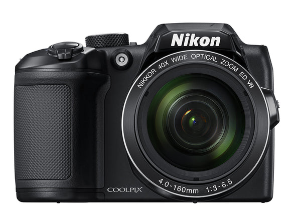 Nikon COOLPIX B500 Digital Camera (Black), - Nouveau Artiste