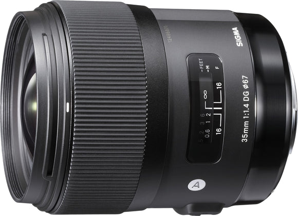 Sigma 35mm F1.4 Art DG HSM Lens for Canon, - Nouveau Artiste