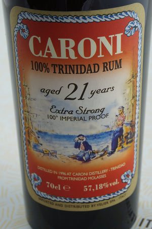Rum Caroni 21 Extra Strong
