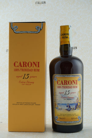 Rum Caroni 15 YO Extra Strong 104° Proof