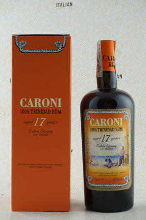 Rum Caroni 17 YO Extra Strong 110° Proof