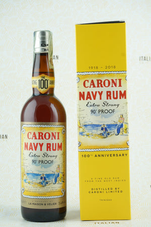 Caroni Navy Rum 90° Proof Replica