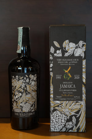 The Wild Parrot Clarendon 1995/2020 Jamaica Rum